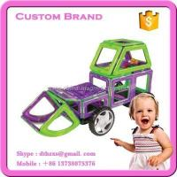 China construction truck magformer construction toys on sale