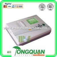 Quality Three channel 12 lead ECG machine-MSLEC04D for sale