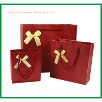 Quality TSP837 Bow Tie Paper Shopping Bag for sale