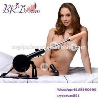 Buy cheap Female vibrating electric automatic sex machine Powerful Stroking and Thrusting Force from wholesalers
