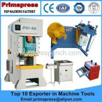Quality power press metal sheet punching hole JH21 production line Admin Edit for sale