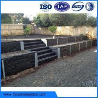 Buy cheap Galvanised Retaining Wall Support H Sections For 50mm 75mm 100mm Sleepers from wholesalers