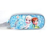 Quality Girls Disney Frozen Pencils Case With Compartments Big Pencil Cases For Children for sale
