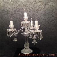 Quality Table Lamp Egypt Crystal + K9 Crystals for sale