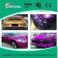 China Glossy Candy PVC Self-adhesive Vinyl Car Exterior Accessories on sale