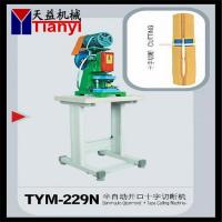 Quality Auto Nylon Zipper Bottom Stop Machine for sale