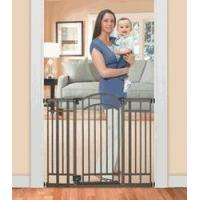 Quality Bronze Multi-Use Decorative Extra Tall Walk-Thru Gate Fits 28 to 48 Openings by Summer Infant for sale
