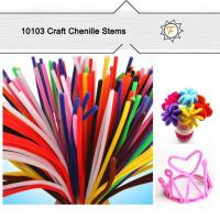 Quality standard 6mm 12 craft bulk pipe cleaners for hobby and craft supplies for sale
