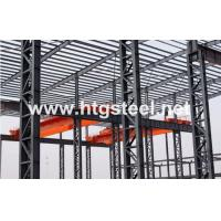 New Design Crane Runway Beam for Fast Assembling Prefabricated Steel Structure Workshop for sale