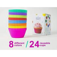 China Silicone Cupcake. FDA Approved 100% Food Grade Silicone, BPA Free. on sale