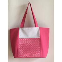 Buy cheap 600D Polyester Combined With Mesh Beach Tote Bag from wholesalers