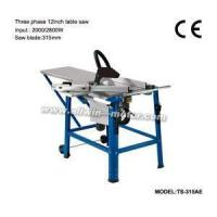 Buy cheap Powerful 2800 Watt(2000W-230V~) Induction Motor Three Phase 12inch Table Saw from wholesalers