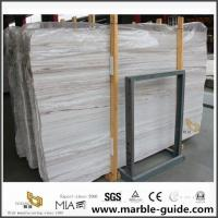 China Crystal Wooden Marble Slab For Bathroom Flooring 12x12 Tiles for sale