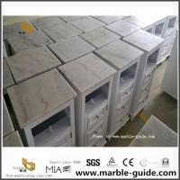 Guangxi White Marble Cabinets Top For Home Depot for sale