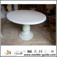 China Bianco Crown Marble Table For Indoor And Outdoor Decoration for sale