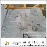 Guangxi White Marble Cubic Stone For Outdoor Gardon Paving Decoration for sale