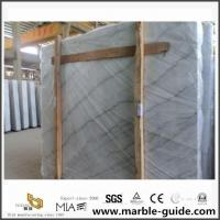 China Guangxi White Marble Slabs For Hotel Bathroom Flooring Tiles Design Ideas for sale