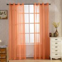 Quality SINOGEM Finished Sheer Window Curtain Window Treatment Thermal Panels American Decorative for sale