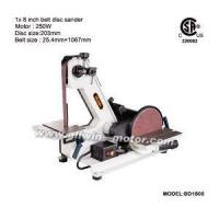 Buy cheap Powerful Induction Motor 1x8 Inch Belt Disc Sander from wholesalers