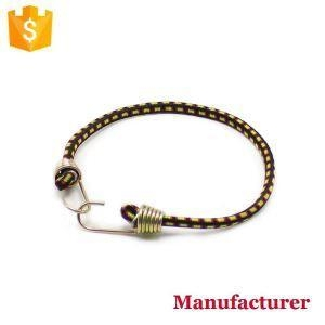 Buy Heavy Duty Adjustable Elastic Shock Fatstrap Flat Bungee Cord with Extra Wide Opening Steel Hooks 48 at wholesale prices