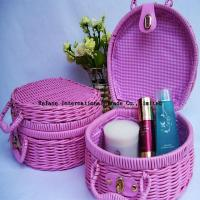 Buy cheap beautiful basket for cosmetic from wholesalers