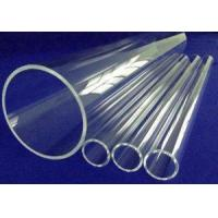 Buy cheap Quartz Tube Extreme purity and excellent high temperature properties. from wholesalers