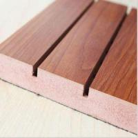 China Groove Wood Drop Ceiling Panels Acoustic Tiles on sale