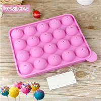 China 20 holes Pop Sucker Sticks Cake Plastic Lolly Lollipop Candy Chocolate DIY Modelling Mould on sale