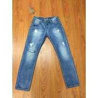 China CWMJ010 Famous Men Jeans Ripped Jeans Blue Rock Star Mens Jeans on sale