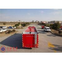 China Foam Capacity 9000kg Fire Pumper Truck , Total Side Girder Heavy Rescue Fire Truck on sale