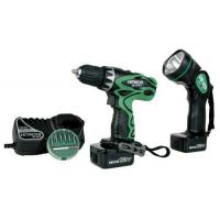 Quality Hitachi DS12DVF3 12-Volt Ni-Cad 3/8-Inch Cordless Drill/Driver Kit for sale