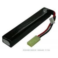 China Airsoft guns 11.1V 1200mAh Li-Poly (Lipo) Battery Pack *3502090 on sale