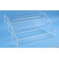 Buy cheap Counter Top Displays Counter Top 3 Compartment Display from wholesalers