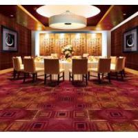 Quality Nylon 3D Flower Design Printed Carpet For Hotel,Banquet Hall for sale
