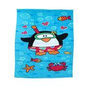 BT-0011 Cartoon Bath Towels, Made of Cotton, Customized Designs Welcomed