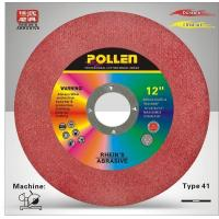 12'' Portable Cutting Machine Wheel, 1/8'' Thickness, 1'' Arbor Size