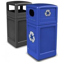 PolyTec Waste & Recycling Combo with Dome Lids
