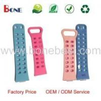 Wholesale Colorful Soft Rubber Silicone Watch Band Strap Bracelet / Rubber Wrist Strap