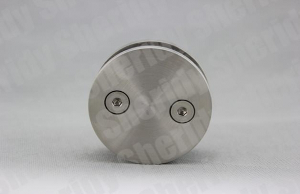 Buy 33.7/42.4/48.3mm Railing Glass Clamp O Type One Side at wholesale prices