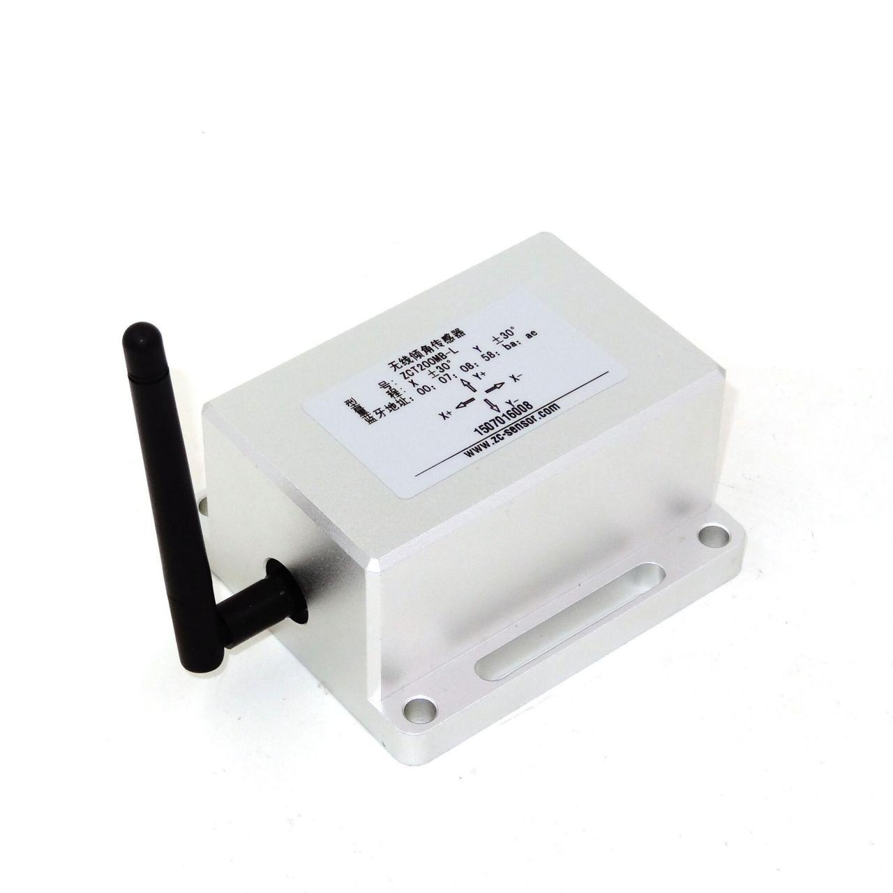 Quality Wireless Inclinometer Dual Axis Wireless Tiltmeter ZCT200MB for sale