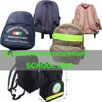 China schoolbag government tender student backpack school bag,exports to africa on sale