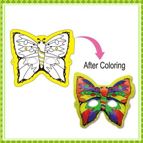 Buy DIY Painting Toy butterfly mask at wholesale prices