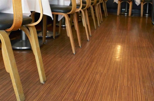 China Vinyl Bamboo Flooring
