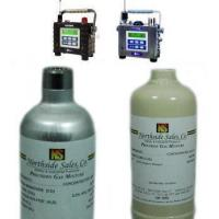Quality Calibration Gas for RAE Systems AreaRAE Multi-Gas Monitor-Quad Mix with (25ppm H2S) for sale