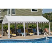 Buy cheap 10x20 Party Tent, 8-Leg Galvanized Steel Frame, White Cover from wholesalers