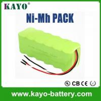 China China Manufacturer Rechargeable Battery 12v Rechargeable Battery Pack Aa Nimh Battery Pack 2500mah on sale