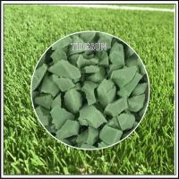 Quality Professional EPDM Colors Rubber Granules Playground Surface for sale