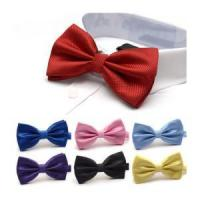 Quality Wholesale Nice Looking Colorful satin necktie bowtie for sale