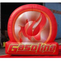 Buy cheap 12ft Giant Advertising Inflatable Tire Balloon Replicas Tyre from wholesalers