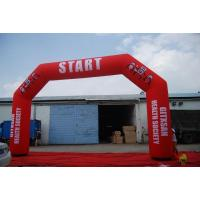 Buy cheap Commercial Promotion Sport Entrance Inflatable Finish Line Arch for Race Gate from wholesalers